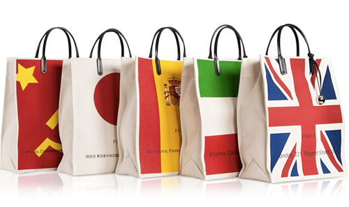 сумки с флагами