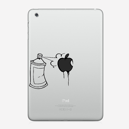 "Наклейка для iPad mini ""Spray"""