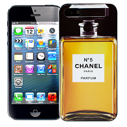 Чехол для iPhone 5/5s Chanel - No. 5