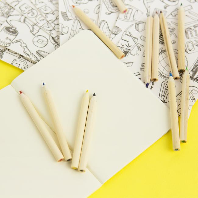 Набор раскраска-антистресс и карандаши Сладости - купить ...