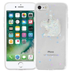 "Чехол для iPhone 7/8 ""Crystal unicorn"""