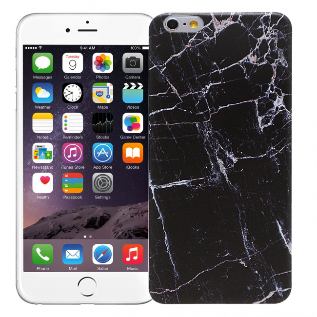 "Чехол для iPhone 6 Plus ""Total black"""