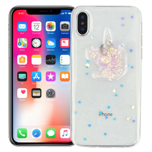 "Чехол для iPhone X/XS ""Crystal unicorn"""