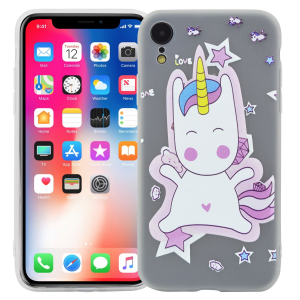 "Чехол для iPhone XR ""Starry unicorn"""