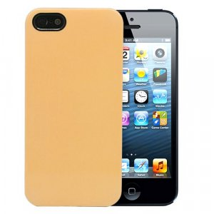 "Чехол для iPhone 5/5s ""Spectrum - Golden yellow"""