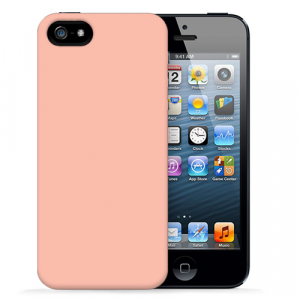 "Чехол для iPhone 5/5s ""Spectrum - Salmon"""