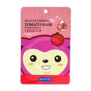 Маска для лица тканевая томатная MILATTE FASHIONY TOMATO MASK SHEET
