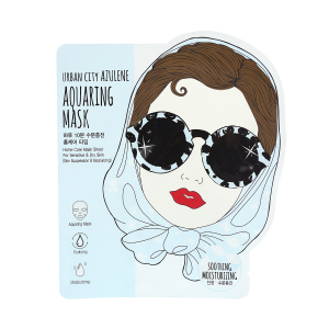 Маска для лица тканевая Urban City Azulene Aquaing Mask_Soothing-Moisturizing
