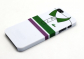 "Чехол для iPhone 5/5s ""Green & purple stripes"", серия ""Sports shirt"""
