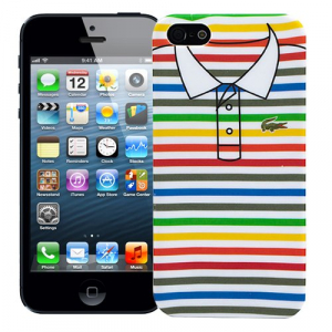 "Чехол для iPhone 5/5s ""Thin stripes"", серия ""Sports shirt"""