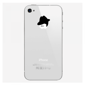 "Наклейка для iPhone 4/4S/5 ""Mr"""