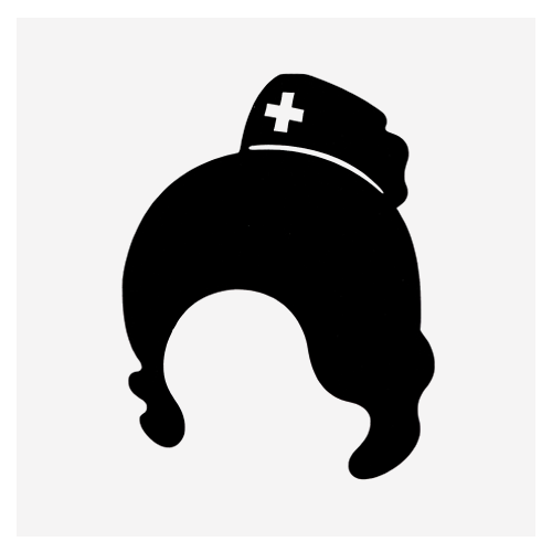 "Наклейка для iPhone 4/4S/5 ""Nurse"""