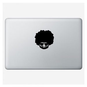"Наклейка для MacBook ""Afro"""