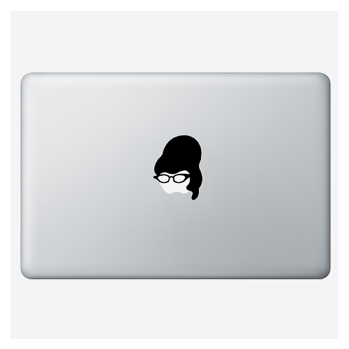 "Наклейка для MacBook ""Cat-eyed"""